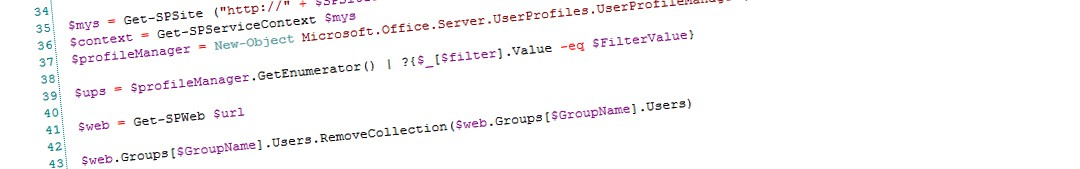Populate SharePoint group from User Profile using Powershell